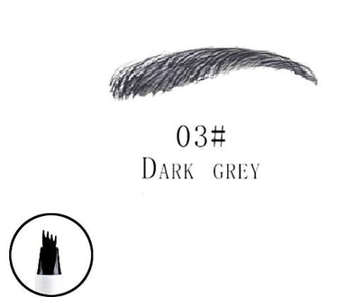 make up pen dark grey color
