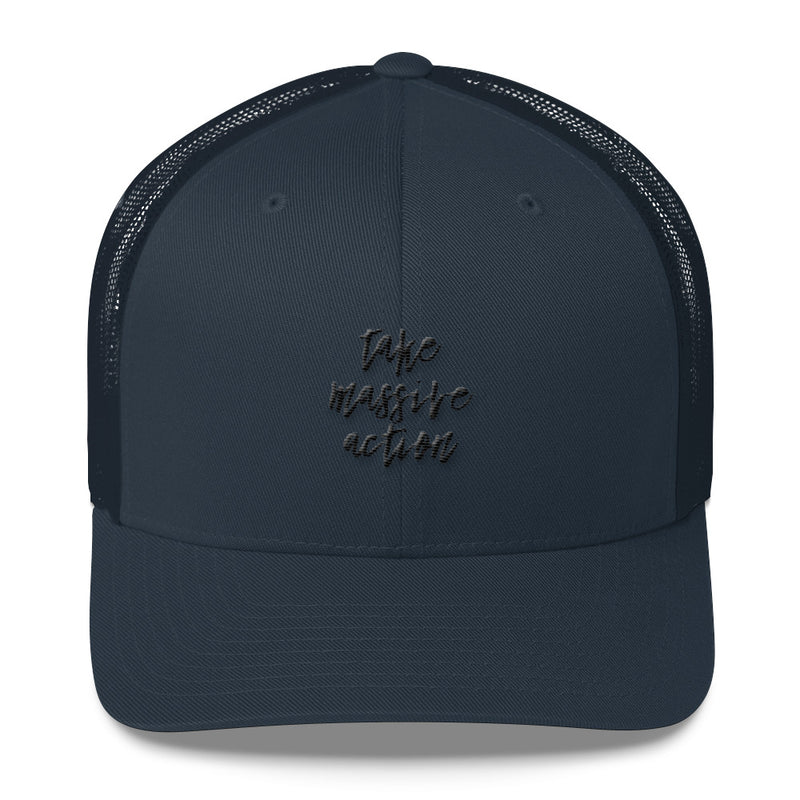 Massive action-Trucker Cap
