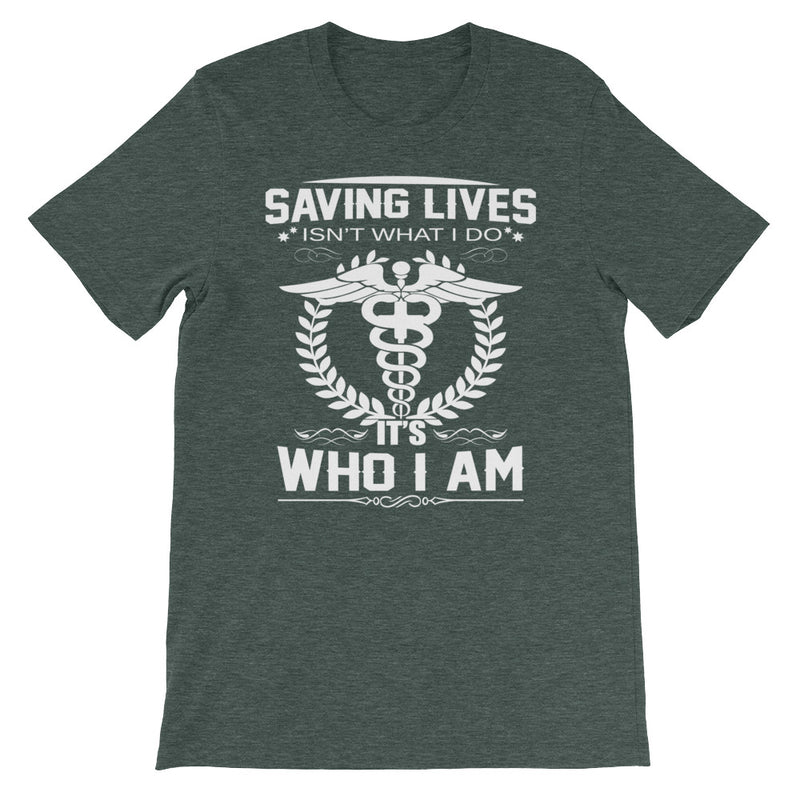 Saving Lives Unisex T-Shirt