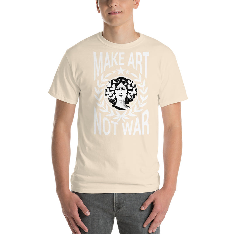 Make Art Not War Short-Sleeve T-Shirt