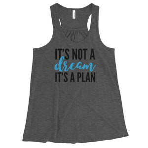 It's a plan Flowy Racerback Tank