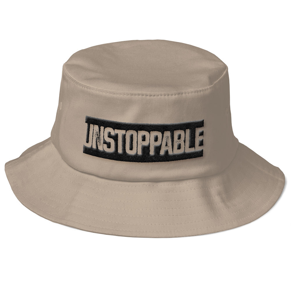 Unstoppable-Old School Bucket Hat