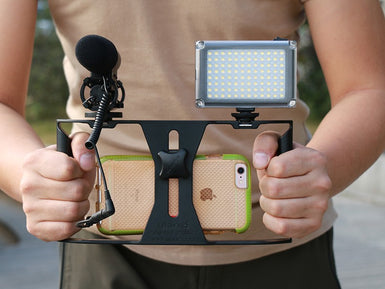 Pro Smartphone Video Handle Rig