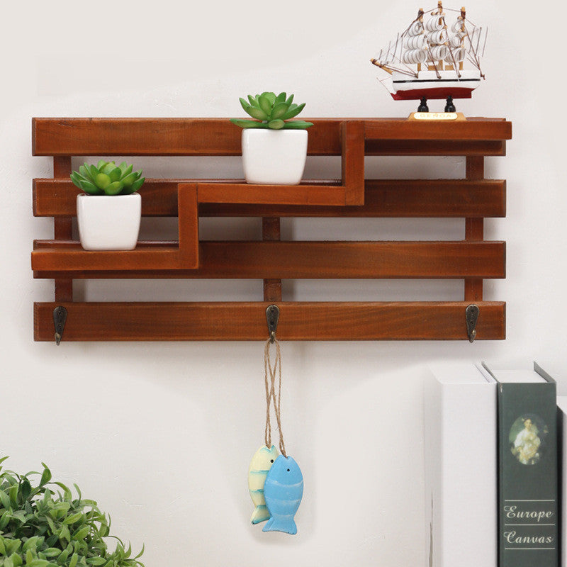 Handmade Wood shelf Organizer