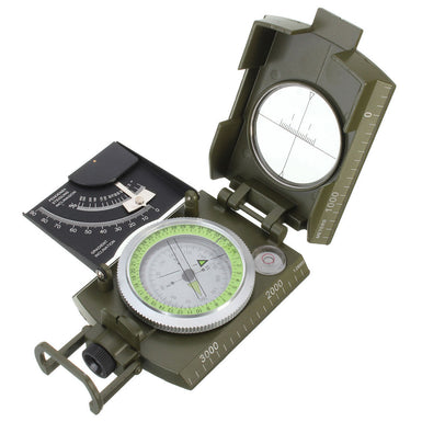 Military Grade Sighting Compass clinometer