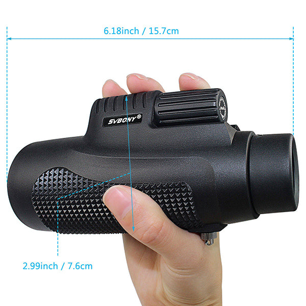Monocular Telescope withPhone Adapter