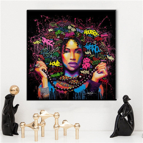 Graffiti Art Canvas Prints.