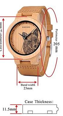 Bamboo And Leather Nature Watch