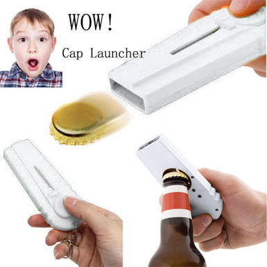 Cap Launcher Beer Bottle Opener