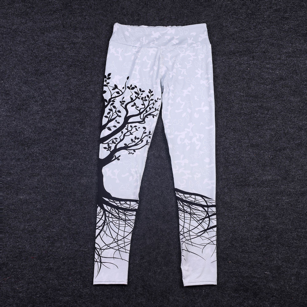 Tree Printed Leggings