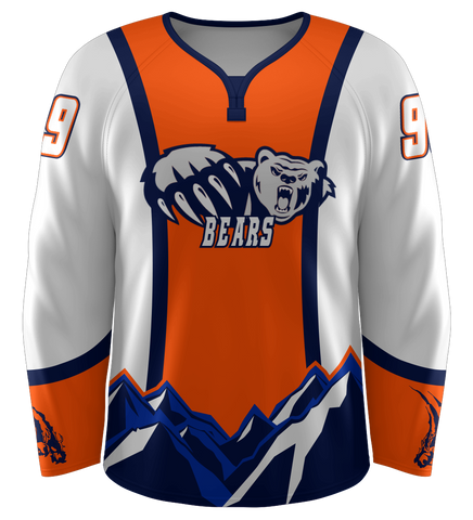 "ProLook Sublimated ""Bears"" Hockey Jersey"
