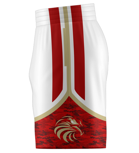 "ProLook Sublimated ""Bulls"" Team Shorts w/Pockets"