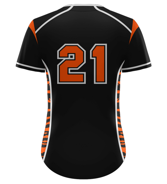 "ProLook Sublimated ""Clinton"" Full Button Softball Jersey"