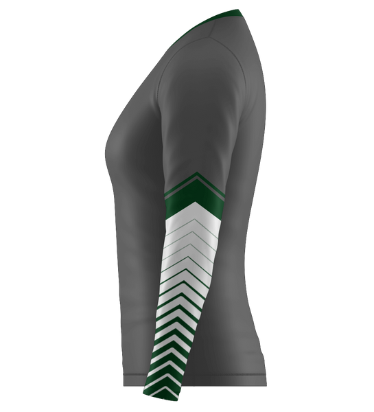 "ProLook Sublimated ""Eagles"" Long Sleeve Volleyball Jersey"