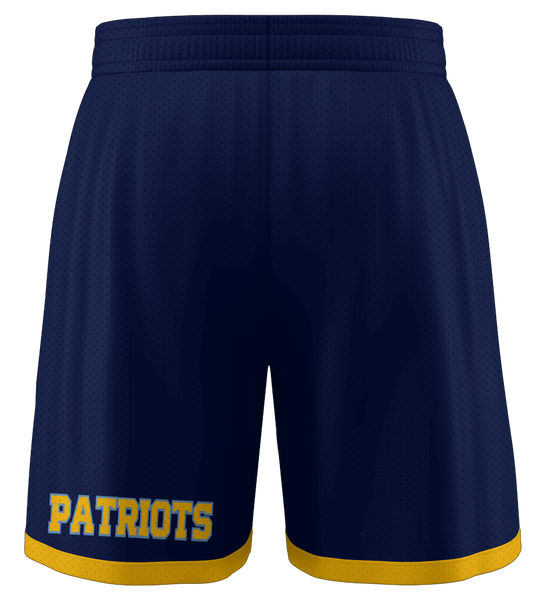 "ProLook Tackle/Twill ""Gold State"" Basketball Shorts"