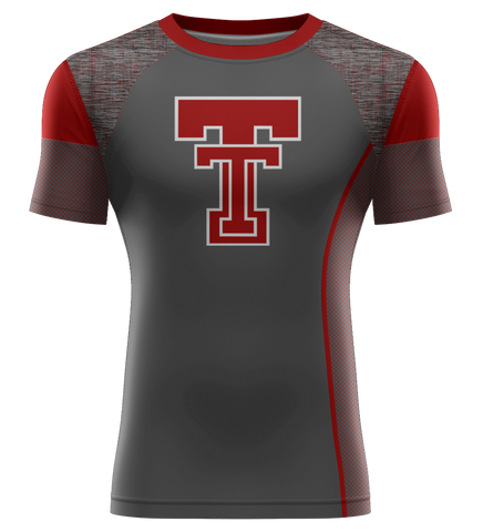 "ProLook Sublimated ""Illini"" Short Sleeve Compression Tee"