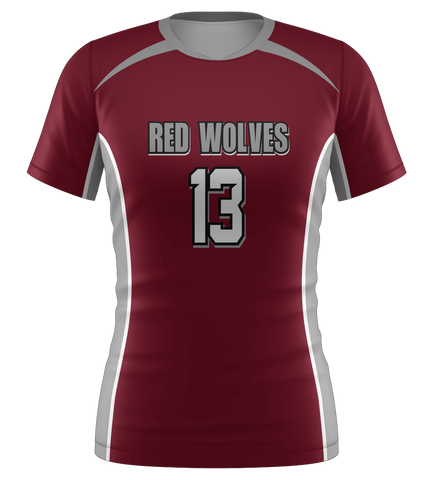 "ProLook Sublimated ""Knights"" Short Sleeve Volleyball Jersey"