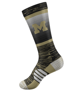 "ProLook Sublimated/Knit ""Line Fade"" Socks"