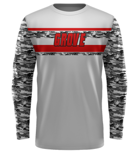"ProLook Sublimated ""Lions_1"" LS Tech Tee"
