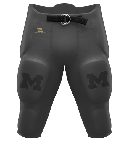 "ProLook Sublimated ""Michigan"" Football Pants"