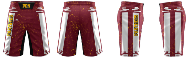 "ProLook Sublimated ""Mustangs"" Wrestling/Fight Shorts"