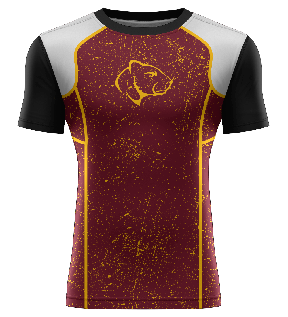 "ProLook Sublimated ""Bolt FS"" Short Sleeve Compression Tee"