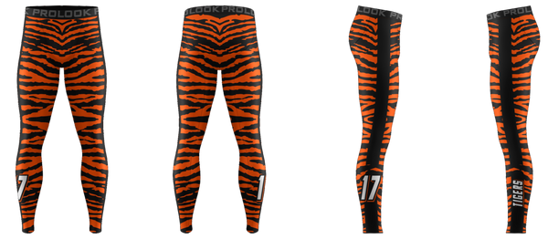 "ProLook Sublimated ""Panthers"" Full Length Compression Pant"