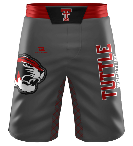 "ProLook Sublimated ""Spartans"" Wrestling/Fight Shorts"