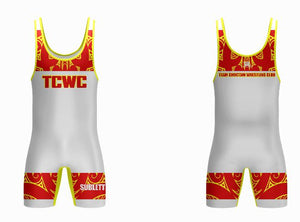 TCWC Alternate Red Singlet