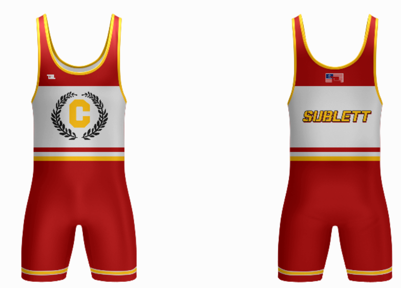 TCWC Red Singlet