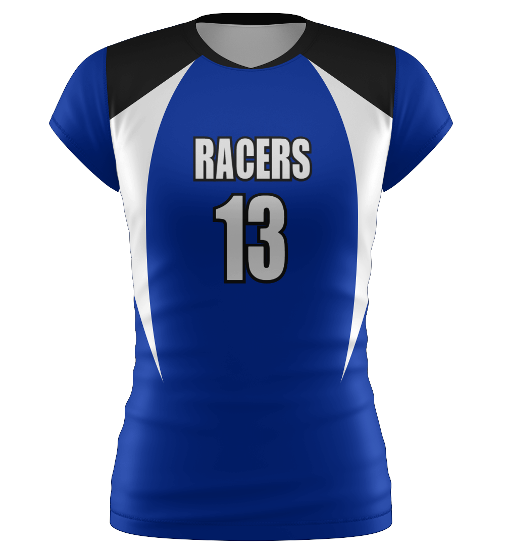 "ProLook Sublimated ""Wildcats"" Volleyball Cap Sleeve Jersey"