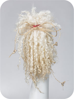 NATURAL WHITE <br /> 9 - 11 inches long