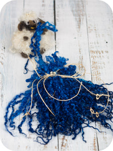 ROYAL BLUE <br /> 9 - 11 inches long