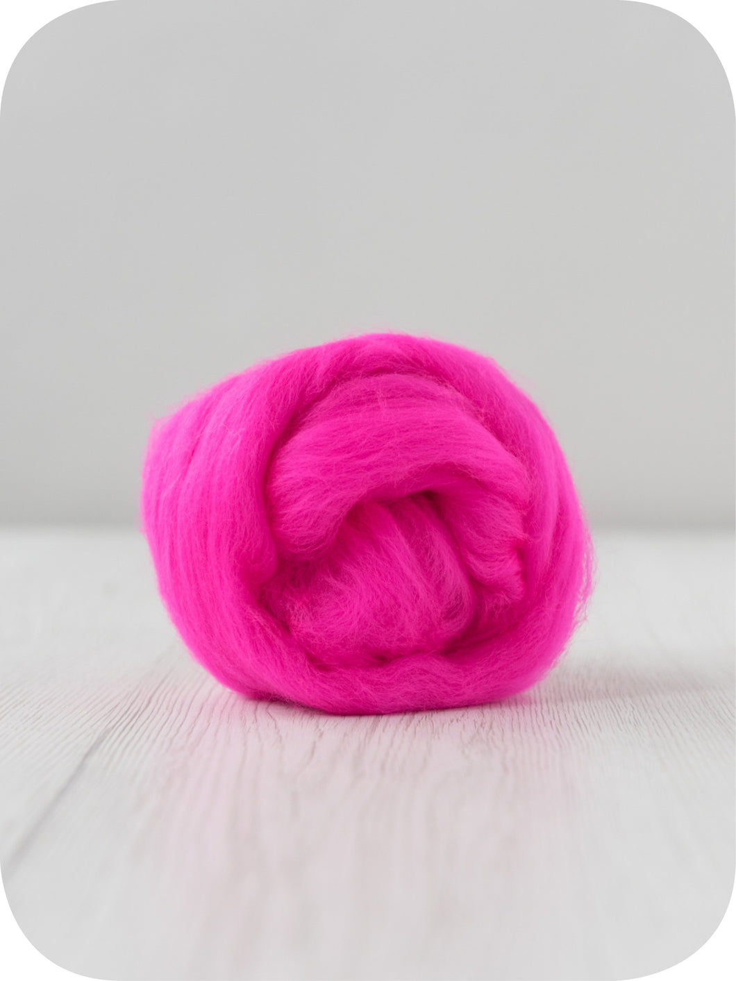 Extra fine merino (about 19 microns) wool tops/roving (Shocking). DyeingHouseGallery DHG