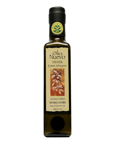 Olio Nuevo Extra Virgin Olive Oil Estate Arbequina