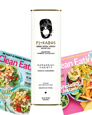 PJ Kabos Greek Extra Virgin Olive Oil + Magazine