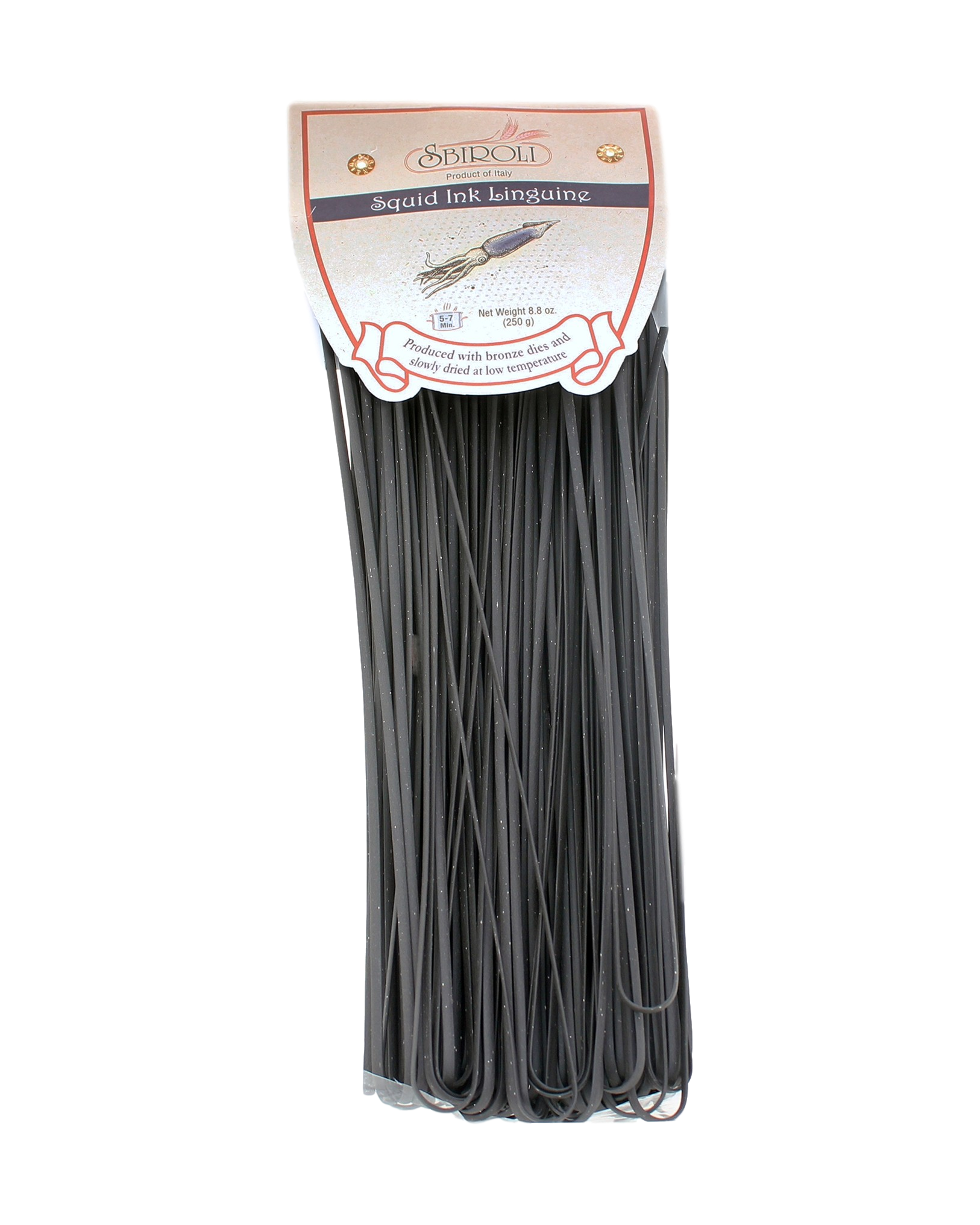 Sbiroli Squid Ink Linguine