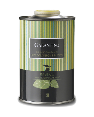 Galantino Basil Flavored Evoo Extra Virgin Olive Oil