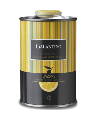 Galantino Lemon Flavored Evoo Extra Virgin Olive Oil