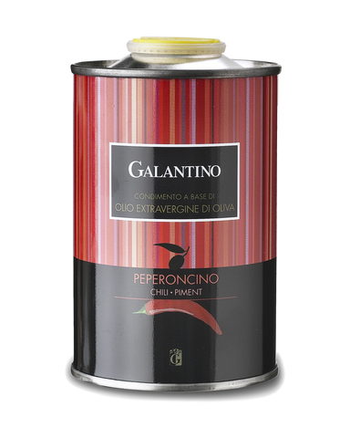Galantino Peperoncino Flavored Evoo Extra Virgin Olive Oil