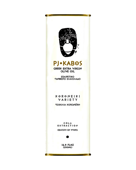 PJ Kabos Greek Extra Virgin Olive Oil
