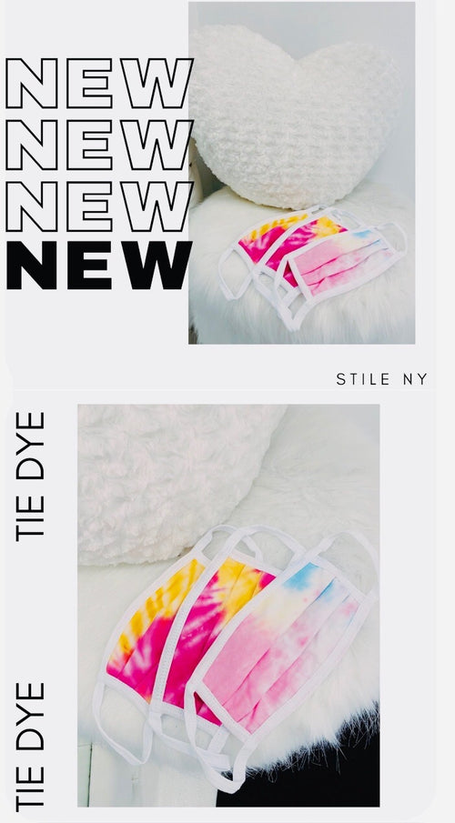 Tie Dye Masks Made In NYC