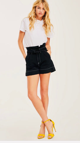 Just USA High Waisted Jean Shorts