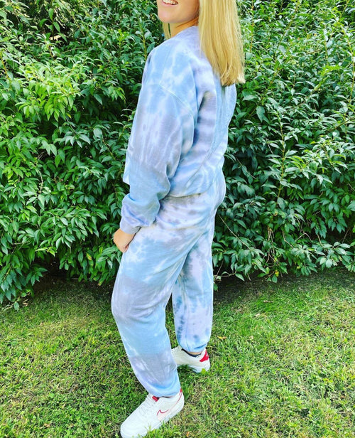 The Sweaty Blonde Tie Dye Sweatpants