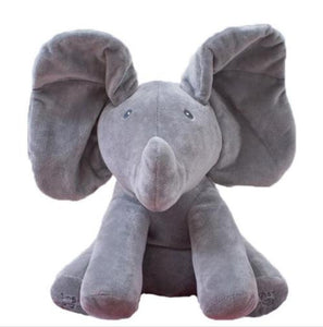 Peek-a-Boo Stuffed Elephant