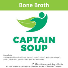 EUGENE, OR PICK-UP ONLY - Bone Broth - Case of (12) 10oz frozen bone broth jars -