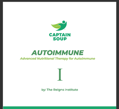 AutoImmune Nutritional Therapy cover page