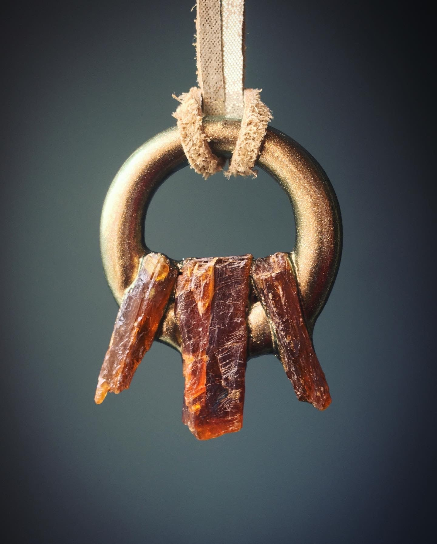 Orange Kyanite Talisman