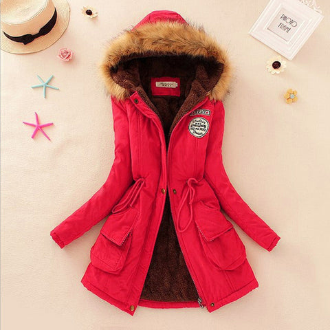 Kinky Parkas Winter Coat for Women
