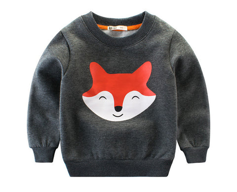 Foxy Sweater for Boys